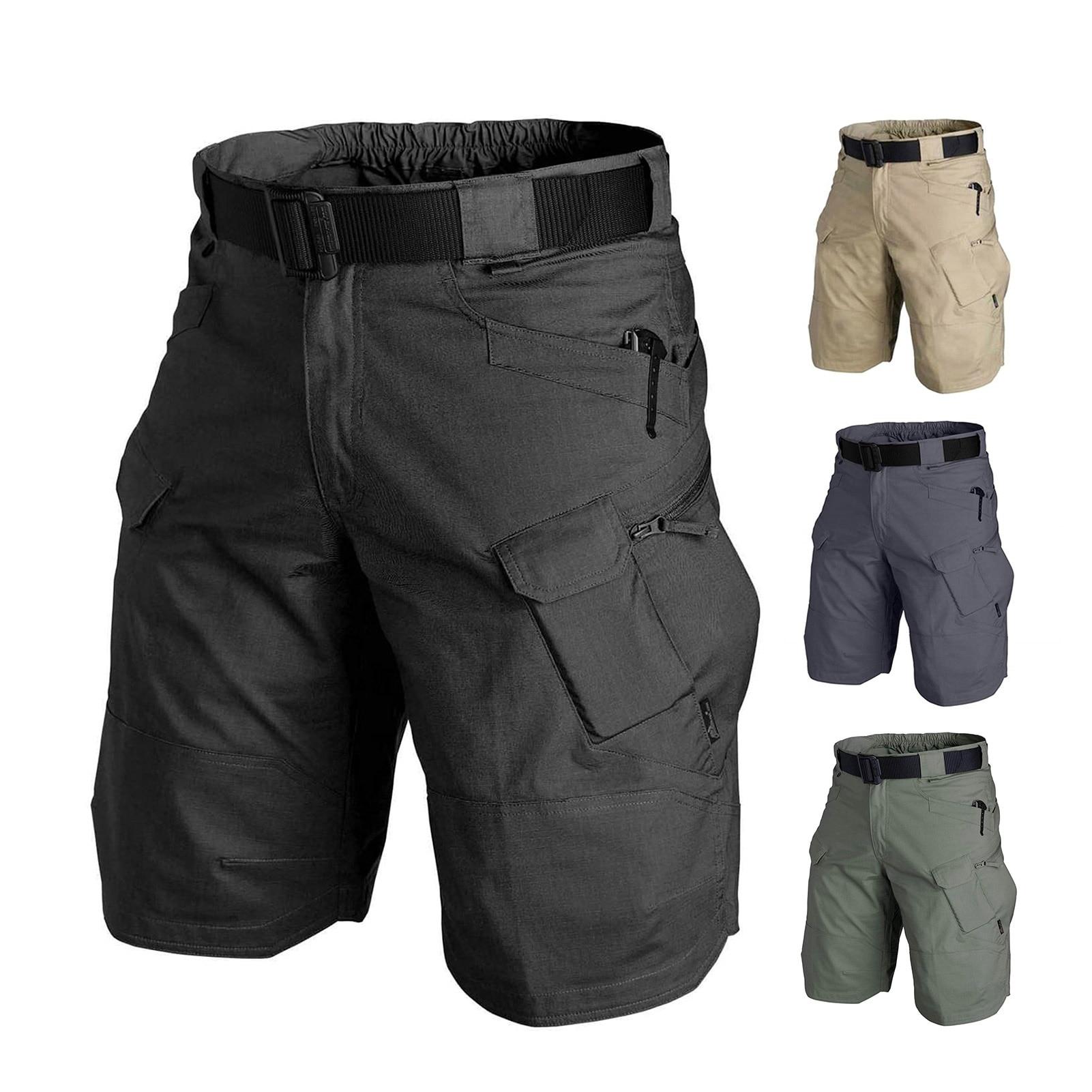 Шорты мужские тактические для активного отдыха/походов, водонепроницаемые быстросохнущие камуфляжные Короткие штаны для работы, охоты, ры...