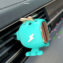 Perfume Car Air Freshener 1Pc Mini Fan Cute Lady Auto Vent Clip Outlet Aromatherapy Car-styling Interior In Accessories