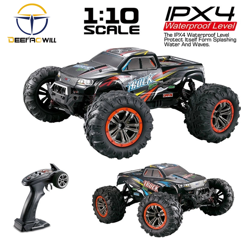 2020 NEW 9125 <font><b>RC</b></font> Car 2.4G 1:10Scale Racing Car Supersonic Truck Off-Road Vehicle Buggy Electronic ToyFull <font><b>scale</b></font> big toy car image