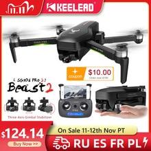 Keelead SG906 Pro Pro2 Drone Quadcopter Met Hd Camera 4K Gps 5G Wifi 2 3 Axis Anti Shake gimbal Professionele Borstelloze Rc Dron