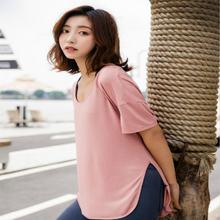 Свободная и быстросохнущая одежда Женская тонкая для бега йоги