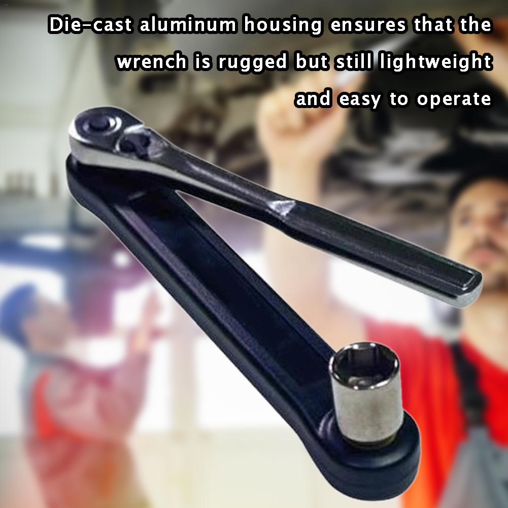 Universal Extension Collapsible Wrench Multi-purpose Extension Wrench Tool For Confined Fasteners For Car Repair Tools