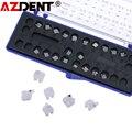 AZDENT стоматологический ортодонтический керамический кронштейны MBT/Рот 022 345 крючки