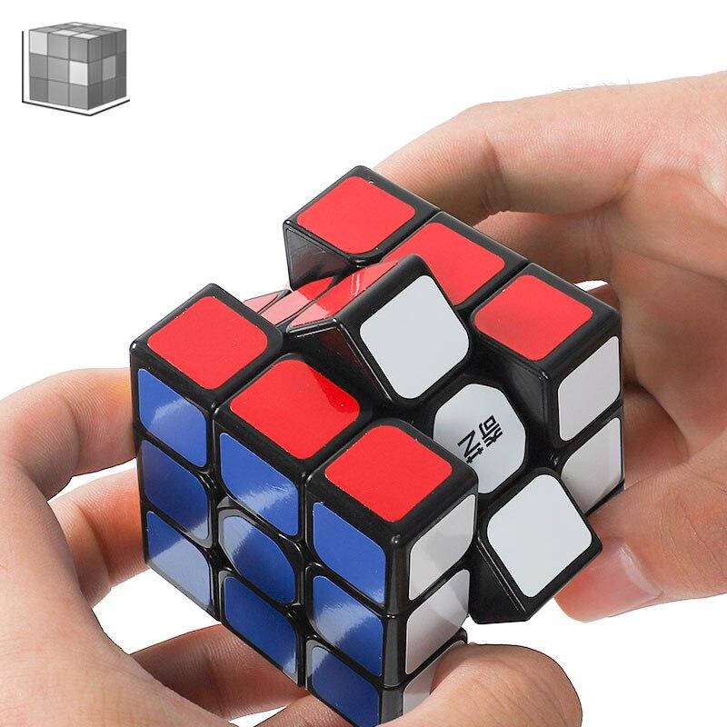 Cubo Quebra-cabeça Cubo velocidade Preto Twister Ck Adesivo Fibra De Carbono 4x4x4 quebra-cabeça Cubo