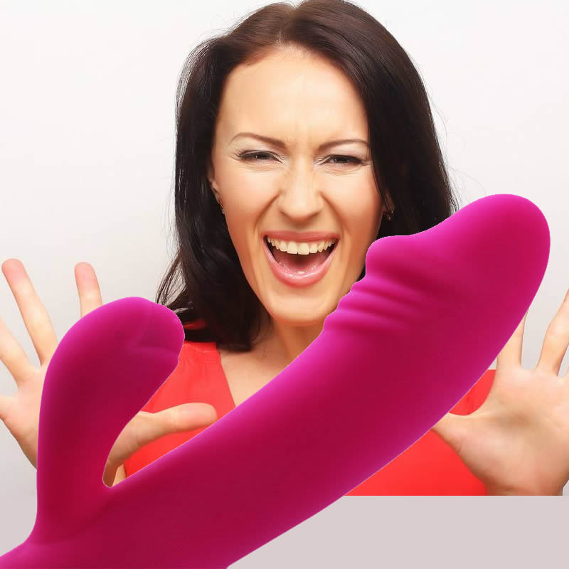 Hot Sale Dildo Rabbit <font><b>Vibrator</b></font> for Women Dual Vibration Silicone Waterproof Female <font><b>Vagina</b></font> Clitoris <font><b>Massager</b></font> <font><b>Sex</b></font> <font><b>Toys</b></font> For Women image