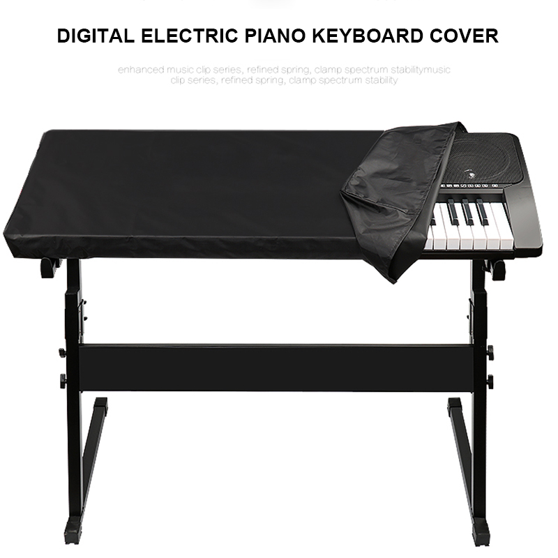 Electronic Digital Piano Keyboard Cover Dustproof Durable Foldable For 88 61 Key DIN889