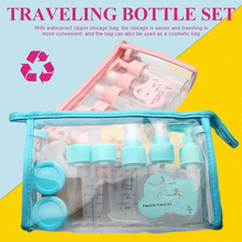 11pcs/Set Transparent Empty Spray Bottles 40ml Plastic Mini Refillable Container Cosmetic Containers Make Up For Travel