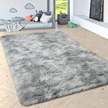 Large Size Tie-Dye Carpets for Living Room/ Bedroom Plush Floor Door Mats Kids Room Fur Rugs Soft