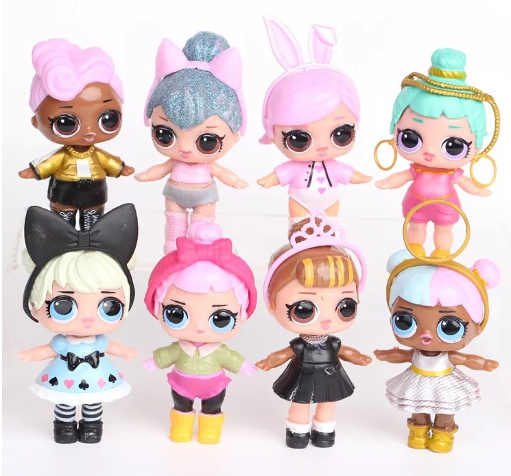 L.O.L. SURPRISE! Original Action Figures Lol Doll Toys Anime  For Children Gifts Model Doll Baby For Girl Kids