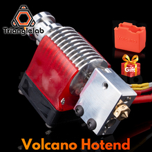 Trianglelab V6 Volcano Hotend 12V/24V Remote Bowen Print J head Hotend And Cooling Fan Bracket For E3D HOTEND For PT100
