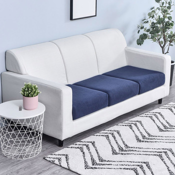 Sofa Cushion Cover Jacquard Sofa Seat Cover for Living Room Elastic Couch Cushion Dust Cover Thick
