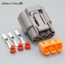 Shhworld Sea 1 комплект 3Pin 2,2 мм DL 090 женский автомобильный водонепроницаемый кабель Разъем для Nissan для Mazda RX8 катушка зажигания Разъем 6195-0009