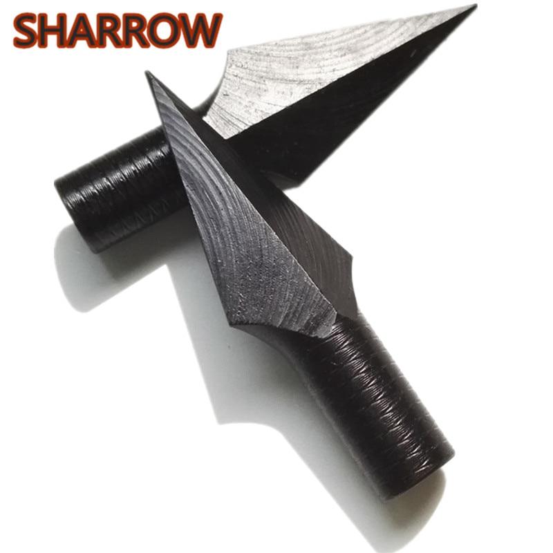 Archery Arrow Whistling Broad Head Broadhead 8mm Black
