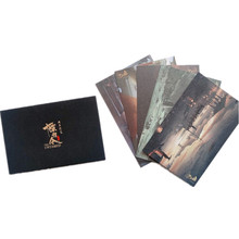 The Untamed Postcard Ling Paper Greeting-Cards Chen Official Qing 5pcs/Set