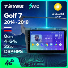 Teyes Spro Voor Volkswagen Golf 7 MK7 2014 2015 2016 2017 2018 Auto Radio Multimedia Video Player Navigatie Gps Android 8.1 Geen(China)