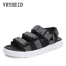 Buy VRYHEID Men's Sandals Gladiators Casual Roman Shoes Outdoor Breathable Mens Sandals Summer Comfortable Light Sandalias Hombre directly from merchant!