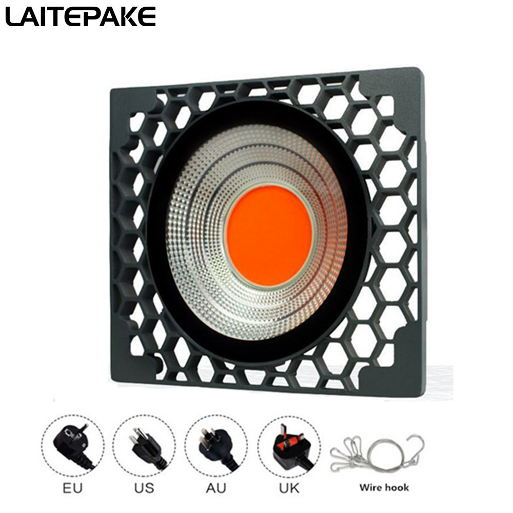 500W COB Led Grow Light Full Spectrum Grow Led 400-830NM Honeycomb Cooling 4500lm For Indoor Grow Tent Seeding Plant Grow