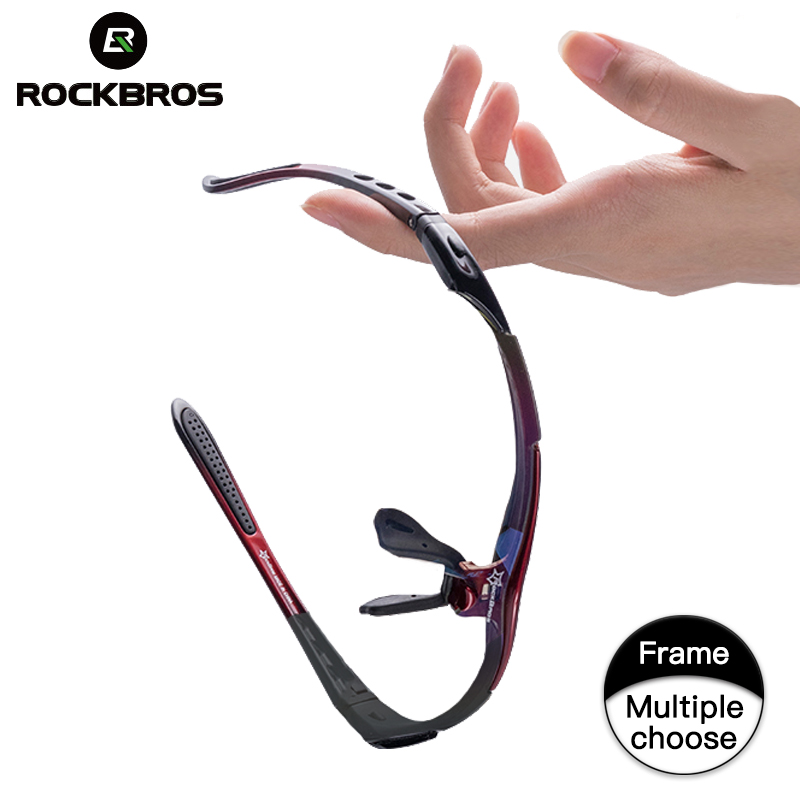 ROCKBROS Ciclismo Óculos de Armação Óculos Polarizados Quadro ciclismo óculos polarizados óculos de lentes de sol parágrafo beisbol