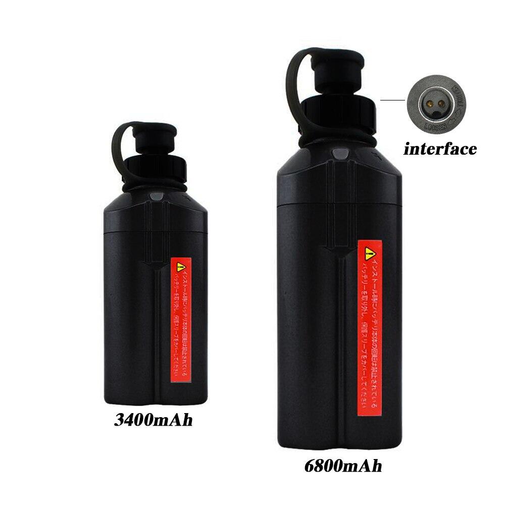 12V 14.8V 16.8V 6800mAh 3400mAh Electric Fishing Reel Battery pack for ecooda DRAGON 7000LB EZH 3000 Electric reel 1A Charger(China)