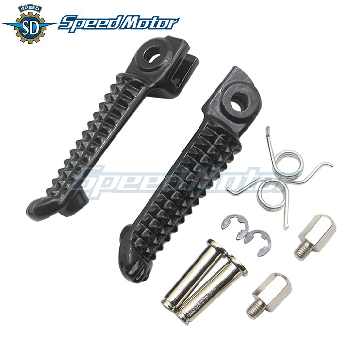 1 Set Of Motorcycle Front And Rear Pedal Feet For Yamaha MT07 MT09 XJ6 FZ1 FZ6 FZ8 MT 07 MT 09 2005-2020