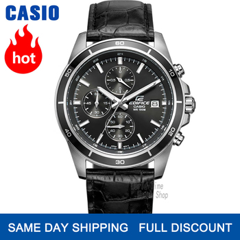 Casio watch Edifice watch men brand luxury quartz Waterproof Chronograph men watch racing Sport military Watch relogio masculino genuine guanqin luxury brand gs19078 chronograph creative quartz watch men military sport leather wristwatch relogio masculino