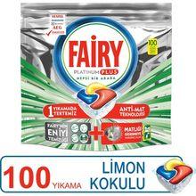 Fairy platinum plus 100 lava-louças cápsula detergente