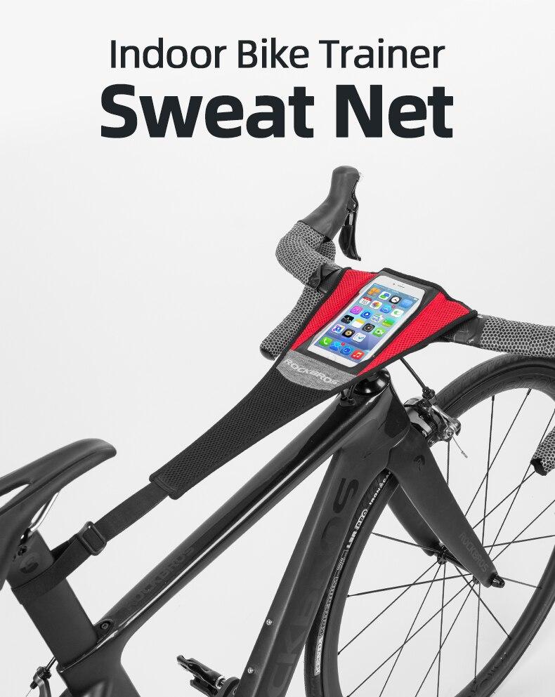 RockBros Road Bike Bicycle Trainer Sweat Net Sweatband Sweatproof Tape Strap C