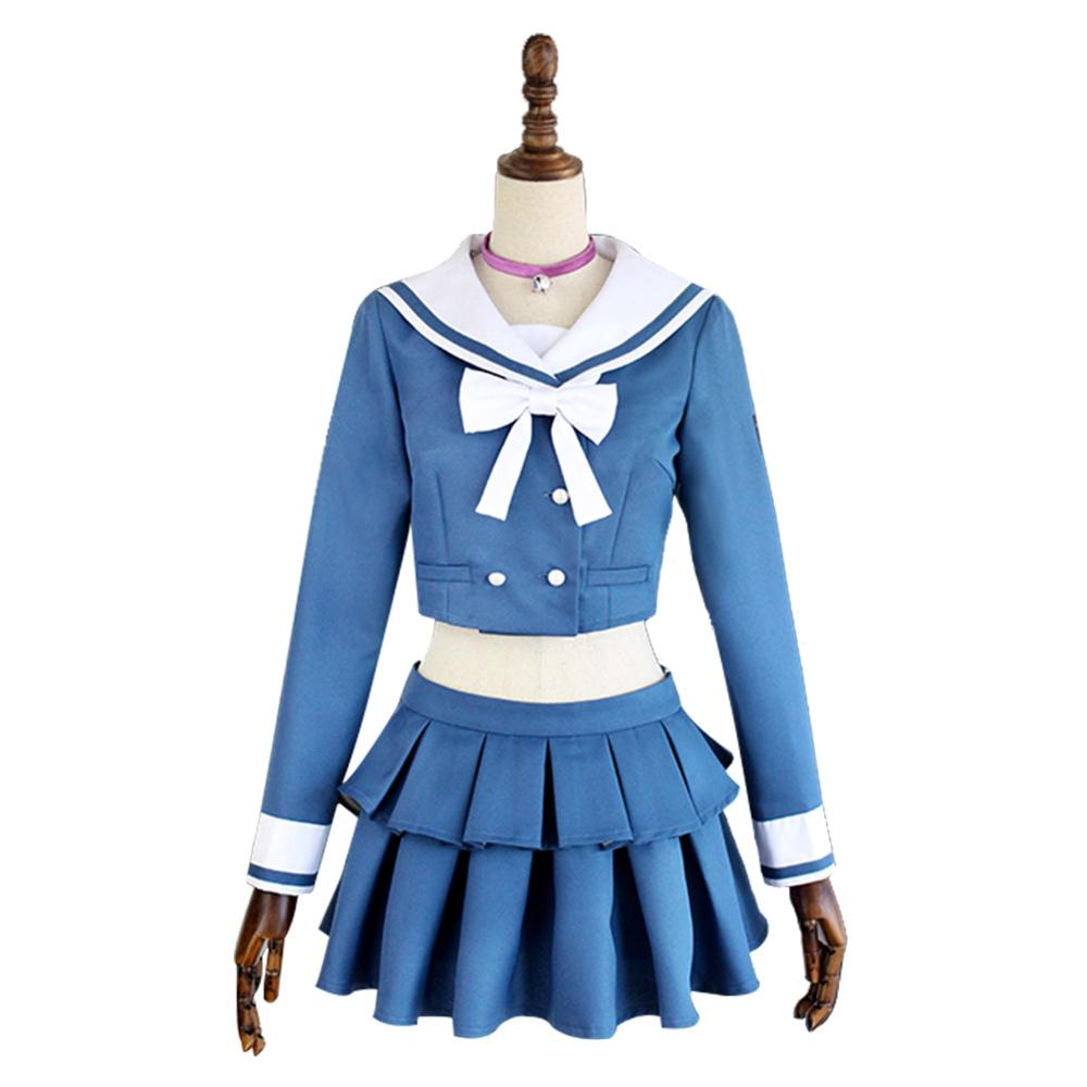 Danganronpa V3: Killing Harmony Tenko Chabashira Dress Cosplay Costume School uniform Outfit Carnival Cosplay Free shipping
