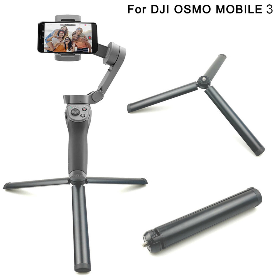 AckfulLightweight Stabilizers Tripod Mounts Gimbal Holder Compatible with DJI OSMO Mobile 3 Camera