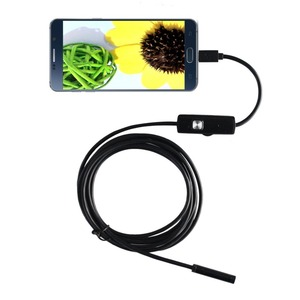Image 5 - new 1.5m For Android iPhone 7MM Endoscope Waterproof Borescope Inspection Camera 8 LED a long effective focal length DFDF