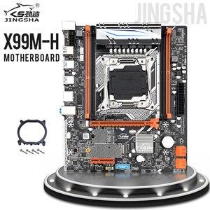 JINGSHA X99 Lga 2011-3motherboard Поддержка NVME M.2 USB3.0 SATA 3,0 2011v 3/V4 Процессор E5 2620V3 и 2 * DDR4 2133/2400 МГц памяти