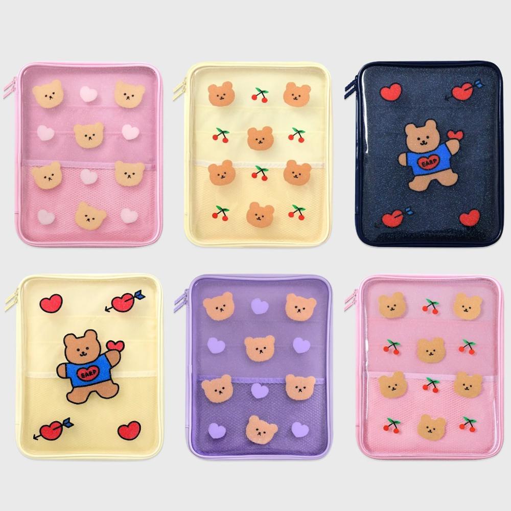 Ipad pro 11 case 2020 new fashion cute girls women 9.7 10.2 10.5 pollici trasparente air1/2/3 ipad 5a 6a 7a borsa per tablet