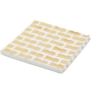 Image 4 - 20ピース/ロットローズゴールドドット紙ナプキン使い捨てパーティー食器のための性別明らかパーティー用品装飾ナプキン