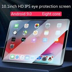 6G + 128G tablet 10.1-cal duży ekran 4G pełna Netcom smart Android ultra cienka nowa nauka biuro tablet 2-in-1 student