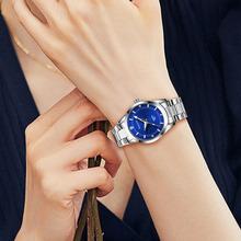 Damski biznesowy zegarek kwarcowy zegarek diamentowy Top damski luksusowy zegarek damski zegarek damski dla kobiet zegarek Relogio Feminin tanie tanio VNWCT QUARTZ NONE Bransoletka zapięcie CN (pochodzenie) Ze stopu 3Bar Moda casual 14mm ROUND 8 9mm Odporny na wstrząsy