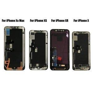 Image 5 - PINZHENG LCD Für iPhone X Xs Max XR LCD Display Für Tianma OEM Touch Screen LCDS Mit Digitizer Ersatz Montage teile