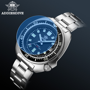 Image 5 - ADDIES Abalone erkekler NH35 otomatik dalış izle 200M su geçirmez safir kristal paslanmaz çelik mekanik erkek saati