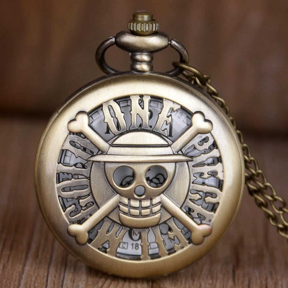 Hot Sales Retro Steampunk One Piece Pocket Watches Quartz Watch Retro Pendant Clock Classic Pocket Necklace Gifts