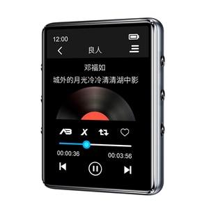 Image 3 - مشغل موسيقى X60 إصدار جديد بتقنية البلوتوث 5.0 MP3 بشاشة لمس مدمجة مكبر صوت 32 جيجا 64 جيجا HiFi محمول مع راديو إف إم