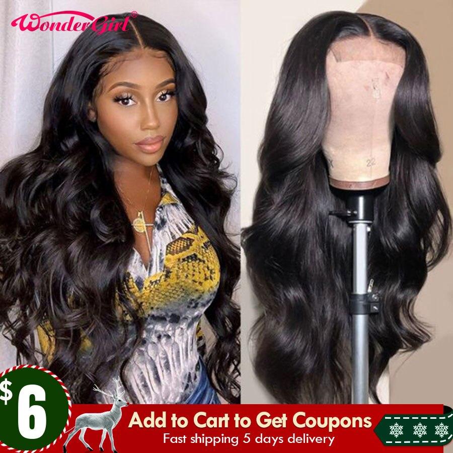 Peluca de encaje transparente para mujer Peluca de cabello humano con malla Frontal prearrancada, 13x6, 360