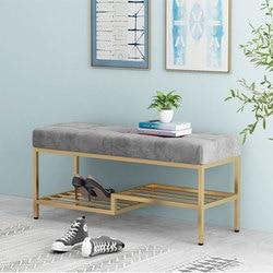 Furnitu – meuble à chaussures en fer, mobilier moderne, tabouret de chaussures pour l'entrée de la maison