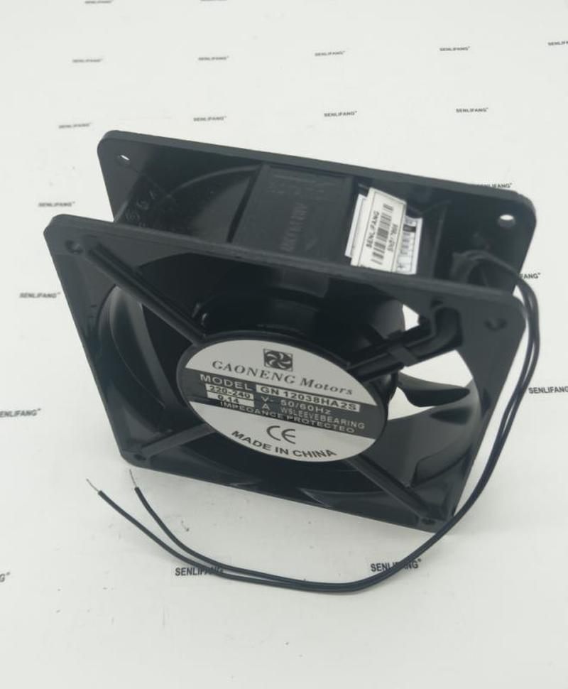 For GAONENG Motors GN12038HA2S 220V-240V 0.14A 12038 Cooling Fan Free Shipping