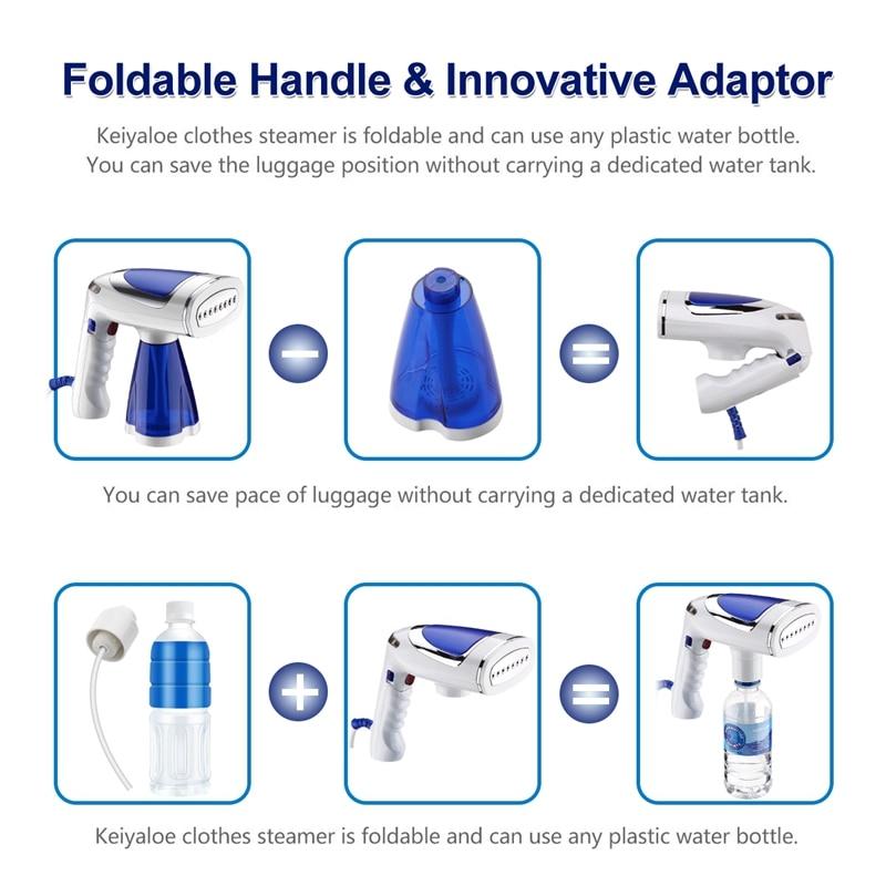 1600WTravel Household Handheld Ironing Machine Garment Steamer Continuous Spray Home Appliances Steam Iron EU Plug Pakistan