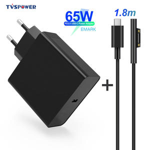 Power-Adapter Charger Tablet Microsoft Surface-Pro 65W 12V PD Type-C 15V for Supply 1724