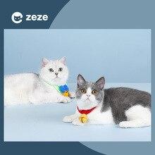 Pet collar knitted cat bell collar collar hand-woven dog bow tie pet supplies
