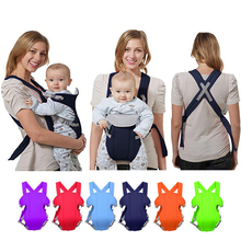 Ergonomic Baby Carrier Infant Baby Hipseat Baby Front Facing Baby Carrier Kangaroo Baby Bag Backpacks Sling Newborn Baby Swaddle cheap 3-30 months 20KG NYLON Front Carry Face-to-Face Back Carry Backpacks Carriers Solid BB014 canguro para bebe canguru canguru bebe