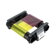 Ribbon Badgy Printer for Evolis 100-Badgy/200-Card-Printer Pn:cbgr0500k Compatible Black/ymcko
