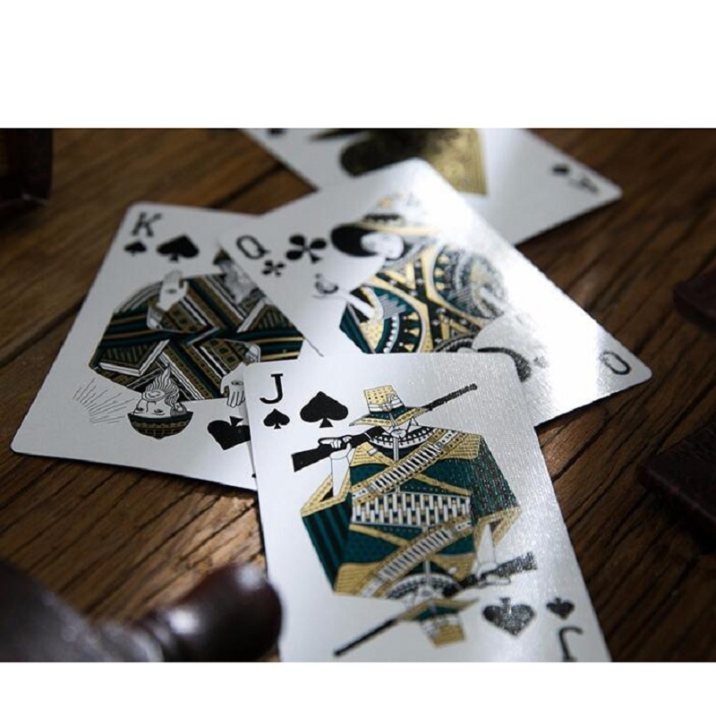 54pcs/set Paper Werewolves Board Game And Playing Card Poker Card Deck Beautiful Present Collection Pokers