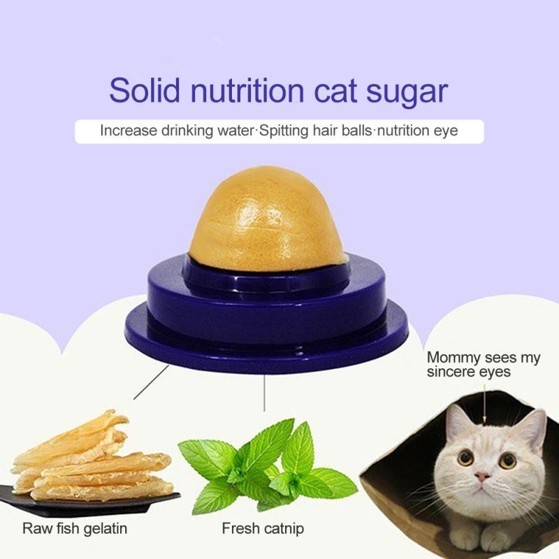 5 шт. здоровые кошачьи закуски кошачья лапка сахарные конфеты лижут питание гель энергетический шар игрушка для кошки увеличение питьевой воды помогает пищеварению