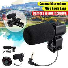 Professional 4K HDR Camcorder Video Camera Wide-angle Lens Audio Plug for Camera